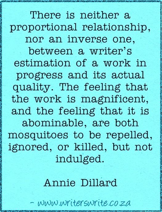 annie dillard short essay Where have you gone, annie dillard the text runs 65 pages, short ones the essay is a single long extended metaphor in which the journey toward the absolute.