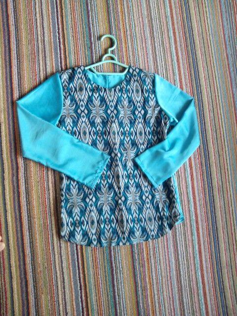 """Atasan batik motif tenun  """"Green Cavali""""  Size fit to M IDR 120000 Minat ? Hp 085720133167"""