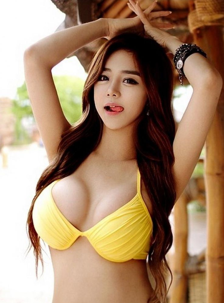Has asian or exotic bikini photos