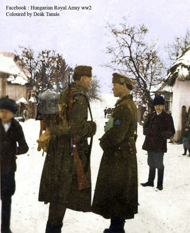 Hungarian infantry WW2