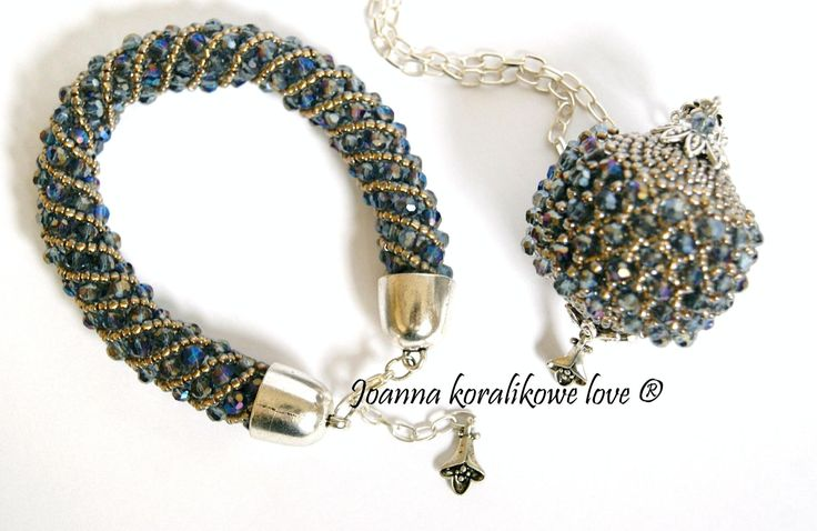 Pendant Bracelet Capricho beaded beads