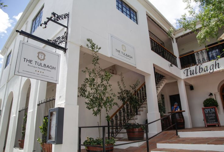 Taste of Tulbagh... #1 The Tulbagh Hotel We just love discovering South Africa's countless sleepy towns during our regular weekend wanderings.