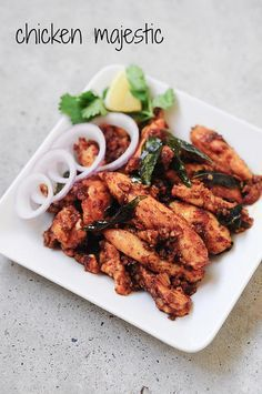 Chicken Majestic - Andhra Style Indian Chicken Starter Recipe