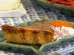 Glutenfri västerbottenpaj med pajskal av potatis (kock Sigrid Bárány)