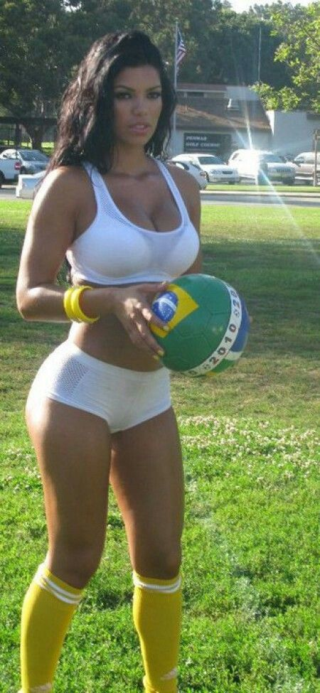 Fuck. The sexy latina sportscasters for soccer she just