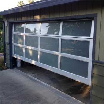 Image result for insulated glass garage doors prices