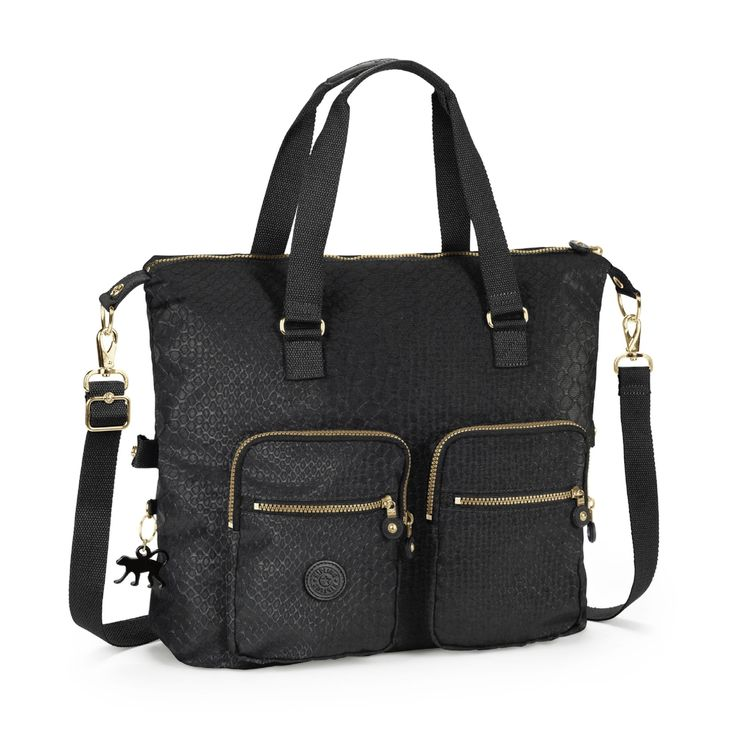 Travel in style with the Erasto Printed Tote Bag from Kipling-USA.com