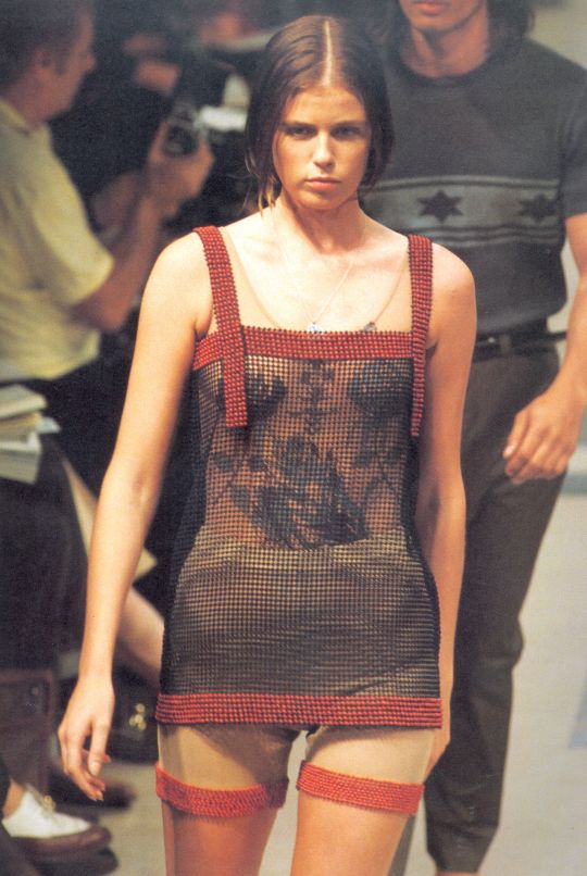 Helmut Lang Spring/Summer 1990| my favorite look of the 90's board