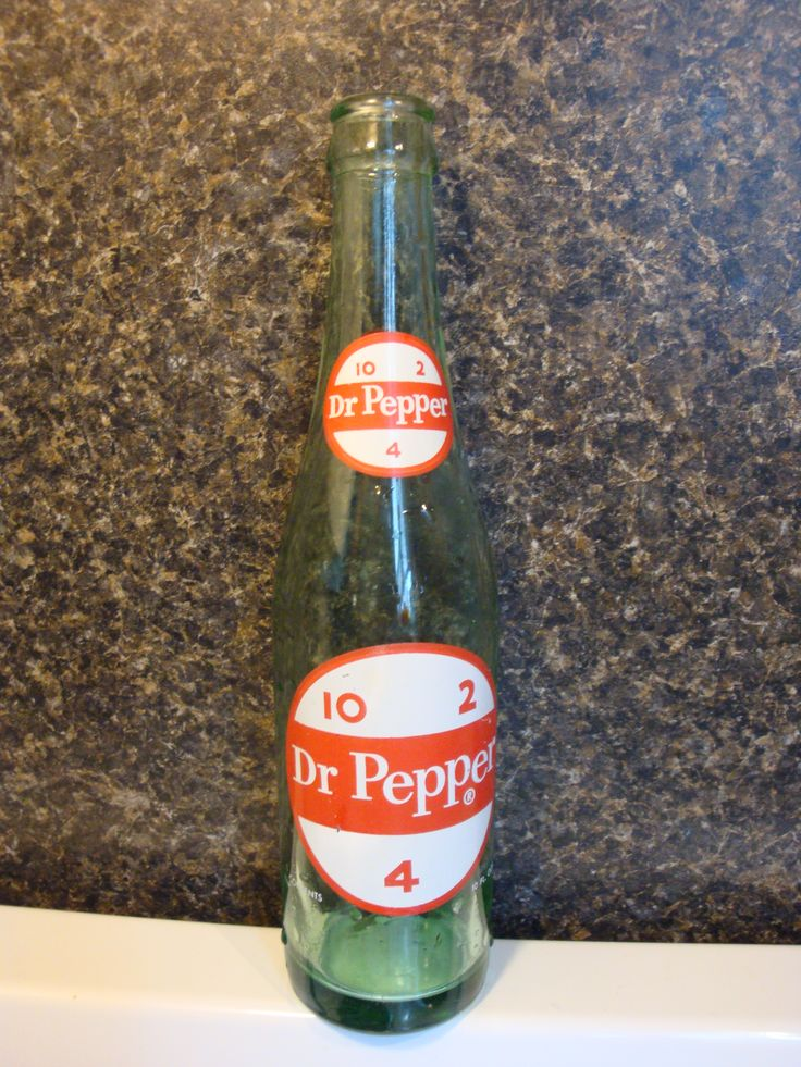 Dr pepper vintage soda bottles dr pepper soda bottles