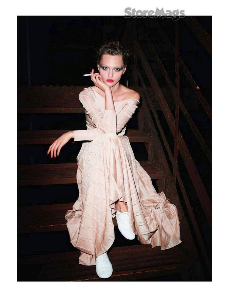 let's dance: sasha pivovarova by terry richardson for vogue paris december/january 2011/2012 | visual optimism; fashion editorials, shows, campaigns & more!