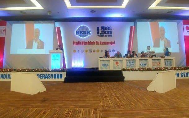 Sendika (.) Org ///  KESK'te görev dağılımı yapıldı: Eş başkanlar Mehmet Bozgeyik ve Aysun Gezen
