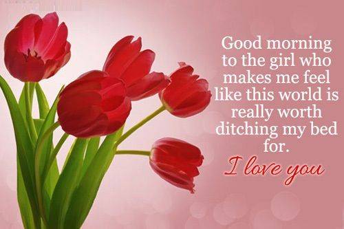 Good Morning Picture SMS for friends