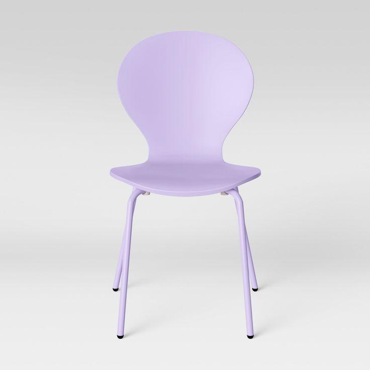 Frankie bentwood kids desk chair violet purple