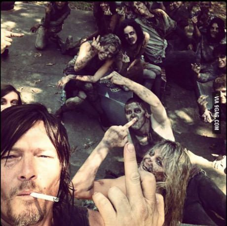 Spoiler alert for the walking dead