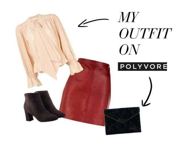 """""""Mi set on Polyvore"""" by lizdalma on Polyvore featuring Sandro, Chloé, Avon and Rebecca Minkoff"""