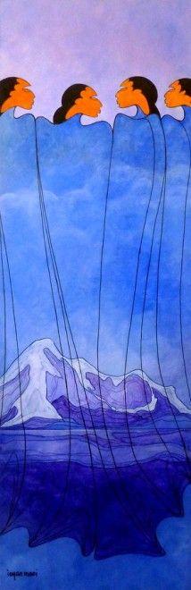Maxine Noel ~ The Gathering Mountain