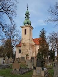 Esto es la inglesa de santo Havel. Está en la colina en Zbraslav.