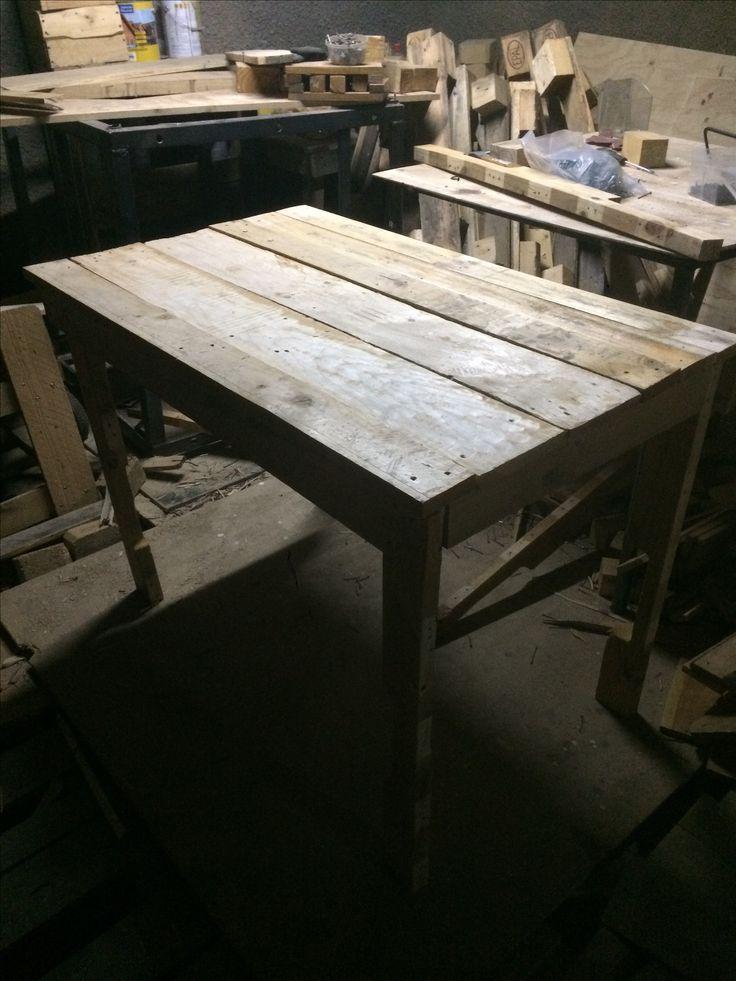 Mesa de #Pallets