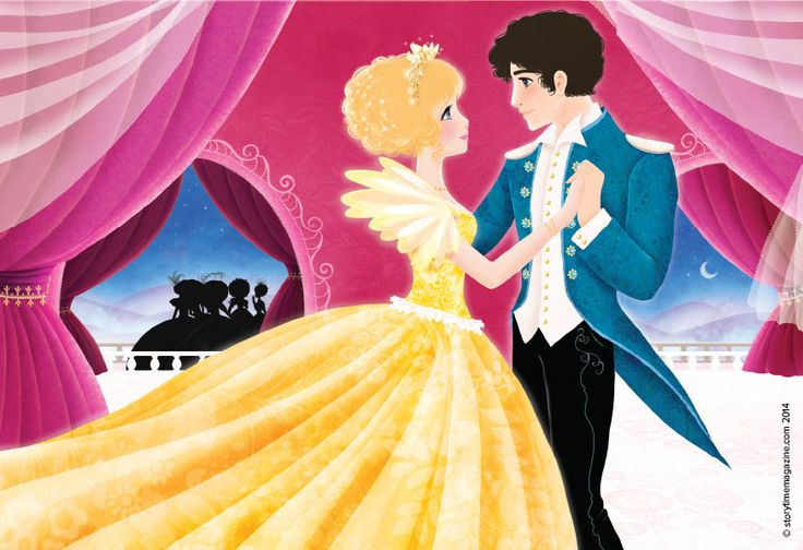 Cinderella is the belle of the ball in Storytime magazine Issue 3! Illustration by Cathy Delanssay (http://cathydelanssay.daportfolio.com) ~ STORYTIMEMAGAZINE.COM