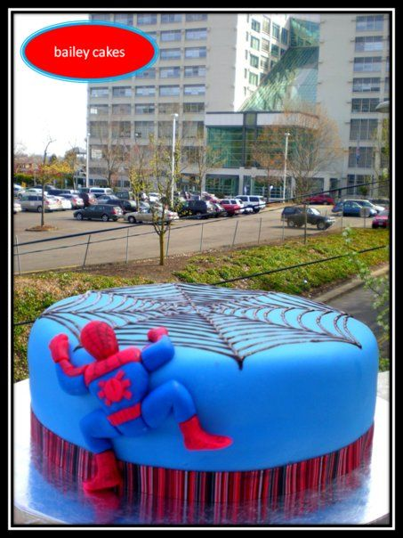 Google Images Spiderman Cake : 17 Best images about Spider-Man party on Pinterest ...