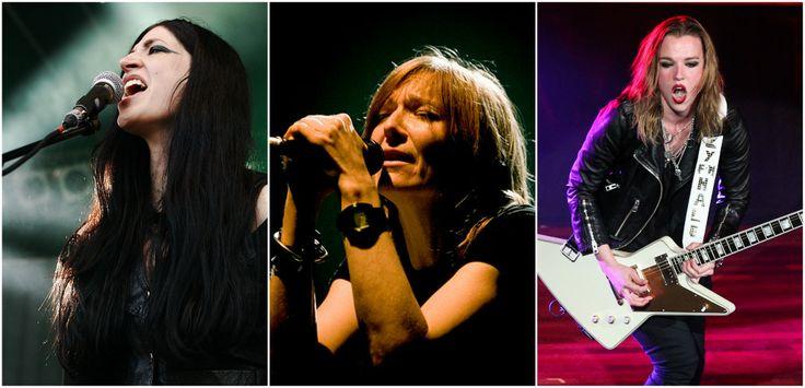 Existen mujeres líderes de bandas de rock que nos han demostrado que el rock y el metal no son géneros exclusivos de hombres, por ello debes conocer...