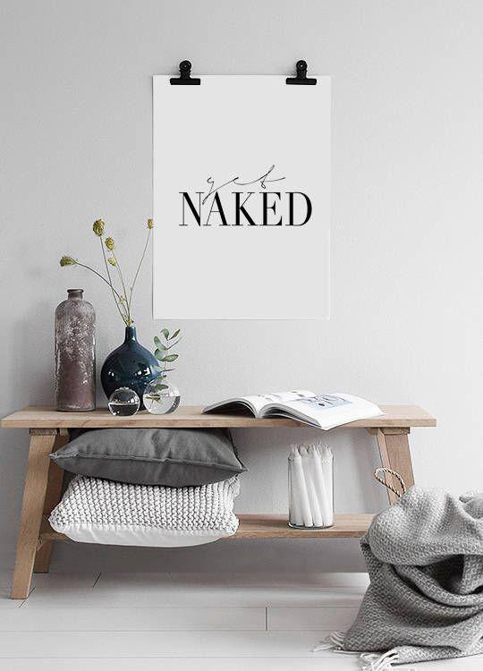 """Get Naked"" Get Naked Print, Quote Prints, Typography Poster, Get Naked Sign, Modern Wall Art, Get Naked Poster, Quote Poster, Typography Print #homeinspo #homedecor #homedecorideas #bedroomdecor #bedroomwallart #couplegift #etsy #art #print #digital #typographyprint #typographyposter #nudityprint #quoteprints #wordart #wordprints"