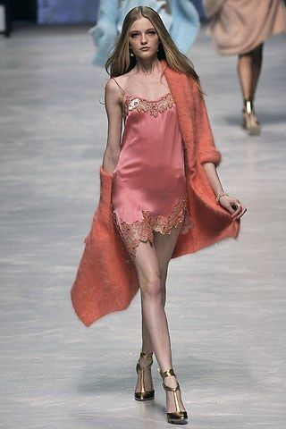 Blumarine Fall 2008 Ready-to-Wear Fashion Show - Vlada Roslyakova