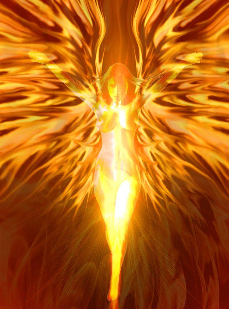 Phoenix Force Fan Art #Marvel #Xmen