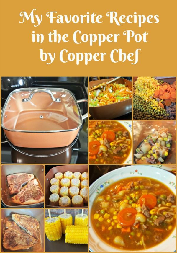 My Favorite Recipes in the Copper Pot by CopperChef Several months ago we replaced our kitchen appliances and our stove is now a induction cook surface type. Yeah, in case you didn't know; there is a world of difference when cooking on a ring burner type and an induction surface. For a while I wasn't [...]