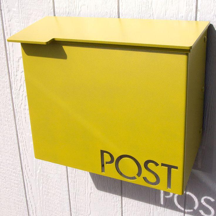 moda industria modern mailbox powder coated aluminum - Modern Mailboxes