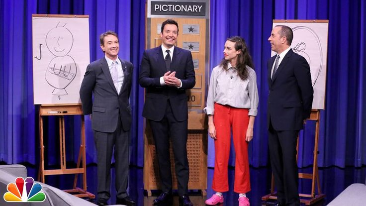 Jimmy and Martin Short team up to compete with Jerry Seinfeld and Miranda Sings in a game of Pictionary. Subscribe NOW to The Tonight Show Starring Jimmy Fal...