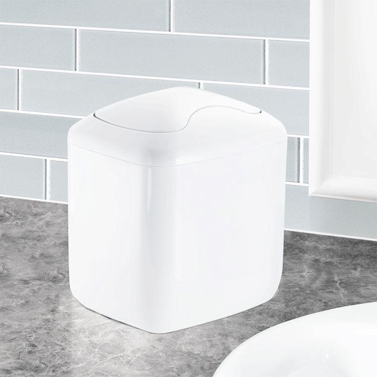Mini poubelle 2,7 litres - salle de bain