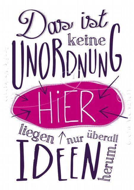 Unordnung - Postkarten - Grafik Werkstatt Bielefeld