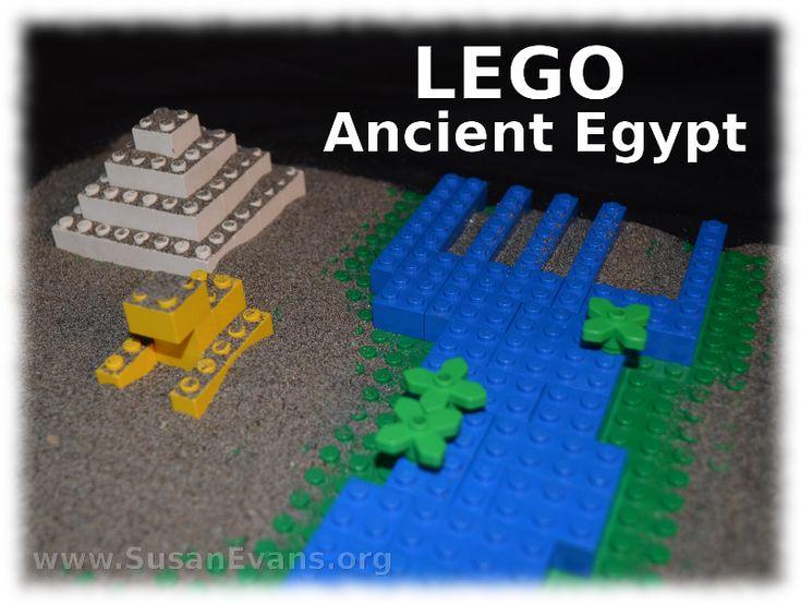 LEGO Ancient Egypt - http://susanevans.org/blog/lego-ancient-egypt/