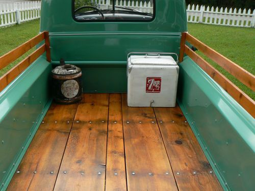 1952 Chevrolet 3100 Stake Side Farm Truck FULLY RESTORED,   LOVE THIS BED!!