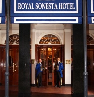 Royal Sonesta Hotel on Bourbon Street ... one of my favorite places to stay in…