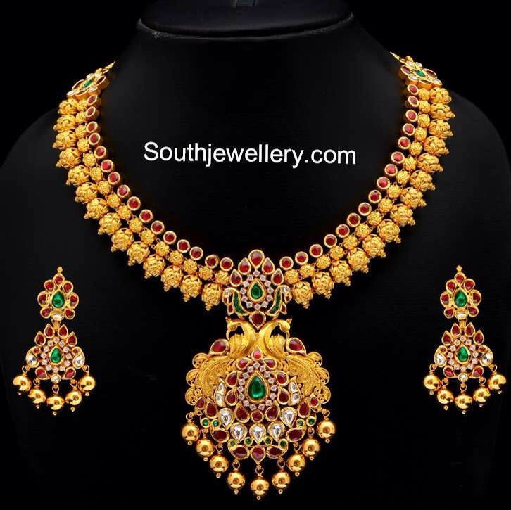 Beautiful South Indian necklace