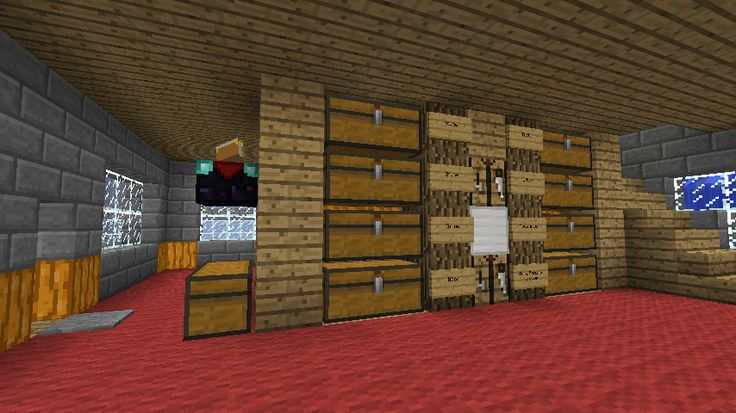 Storage Room Insight, Ideas, and Examples - Survival Mode - Minecraft Discussion - Minecraft Forum - Minecraft Forum
