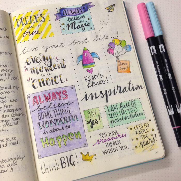 Quote page in my bullet journal - I will use it as Scripture Memory each week. christina77star.co.uk
