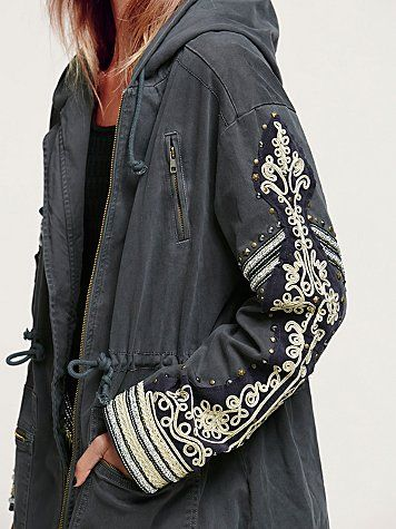 Golden Quills Military Parka -- just ordered this jacket and I am sooo excited…