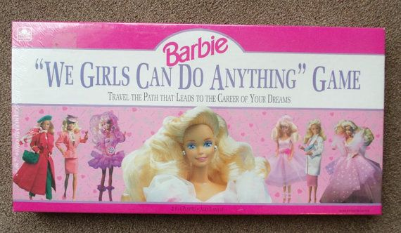 Vintage Barbie Game We Girls Can Do by PaperCreationsbyDeb on Etsy