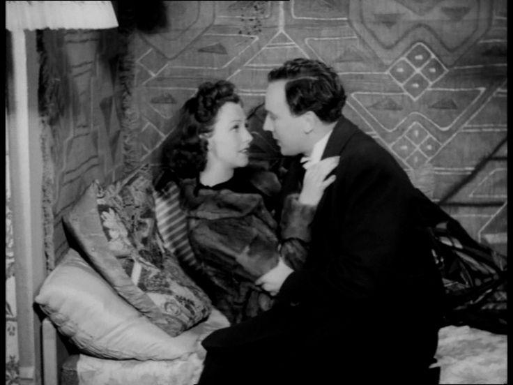 Marguerite Viby og Sigfred Johansen, i En pige med pep fra 1940.