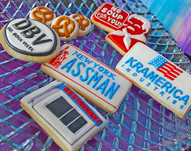 And even more Seinfeld cookies #seinfeld #cookies