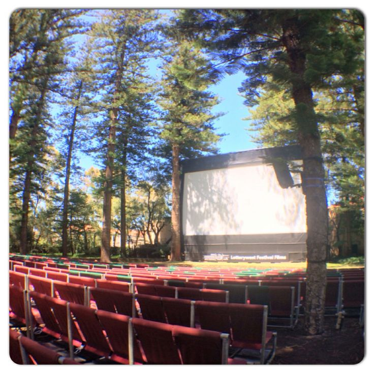 OUTDOOR CINEMA.  Somerville Auditorium of The University of Western Australia in Perth gives a great movie experience to students with a twist of close encounter with nature. It can accommodate around 1,000 people and picknicking among students has become part of the tradition.   #StudyInAustralia #FutureUnlimited