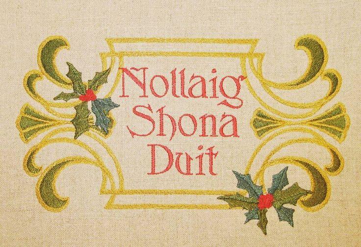Nollaig Shona Duit (in Irish)! Happy Christmas! #HappyChristmas #NollaigShonaDuit #CEC #studyabroad #theCECexperience #Cork #corkenglishcollege