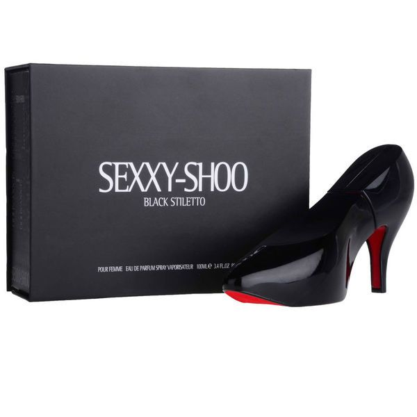 "Check out my collection ""do like sexul shape **Sexxy Shoo Black Stiletto Women's 3.4-ounce Eau de Parfum "" on yroo.com"