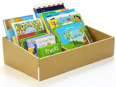 15 способов хранения детских книг
