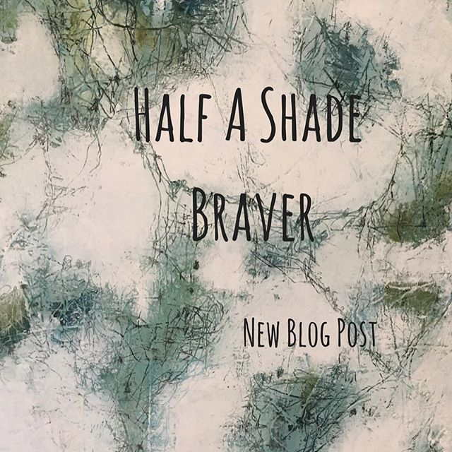 New blog post. Join me to explore how bravery is hidden in small things. Where in life can we be just half a shade braver? Poet, David Whyte asks the question.  We hold our own personal answers. Link to post on bio