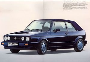 "golf 1 cabrio special edition ""etienne aigner"" (1990) - sweet one!"