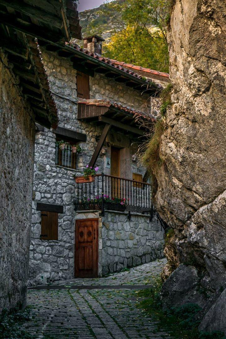 Bulnes Asturias. España.